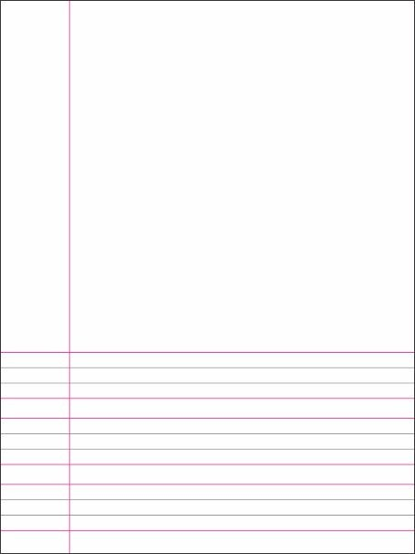 English Broad 4 Line Half Page Blank Copy 120 Pages