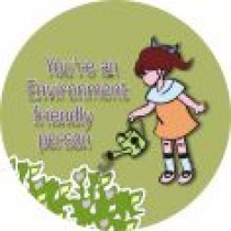You're an Environment friendly person